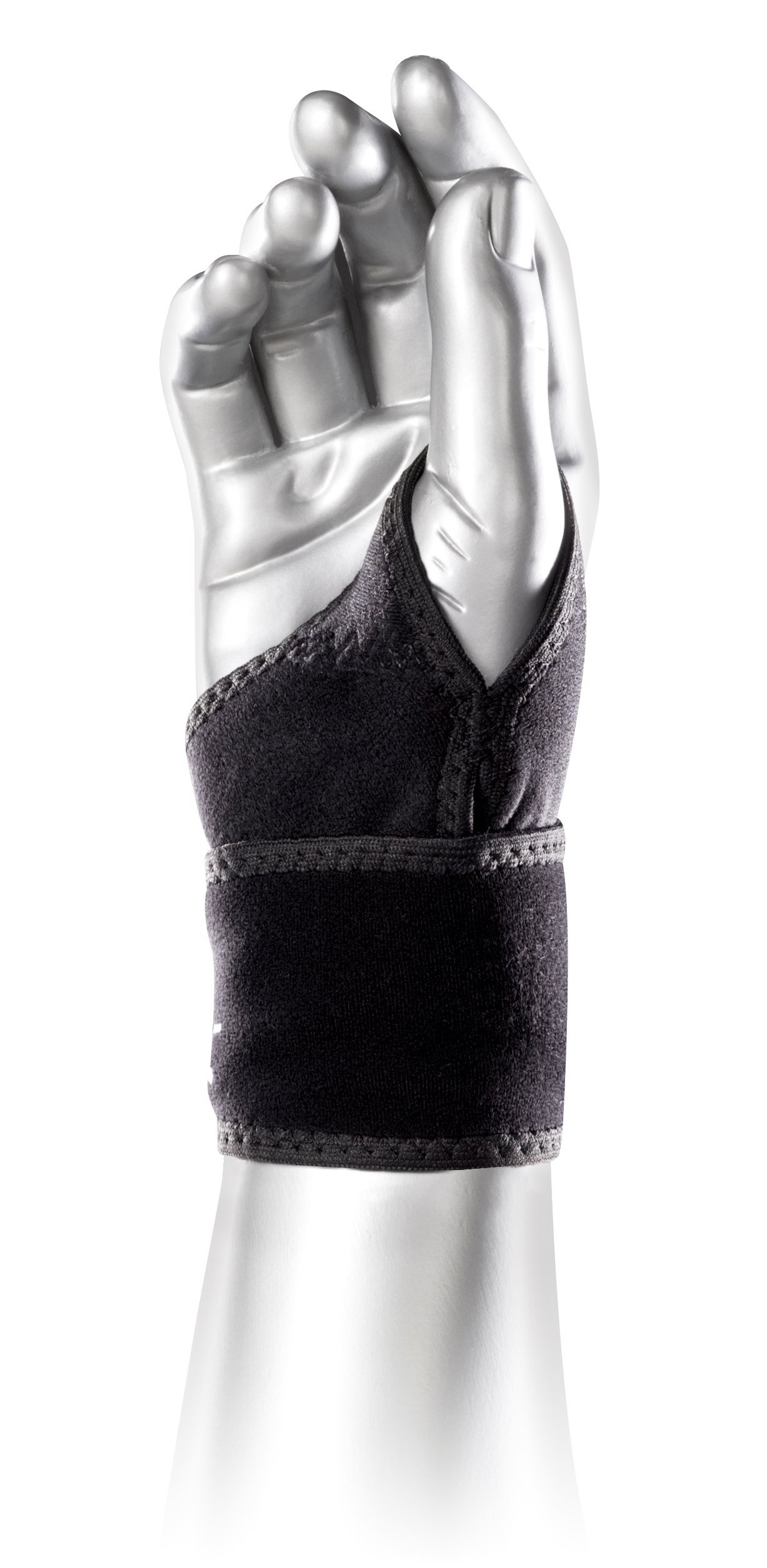 Wrist Wrap for Carpal Tunnel, Arthritis and Weight Lifting - Hypoallergenic Wrist Support - Boomerang, by BioSkin
