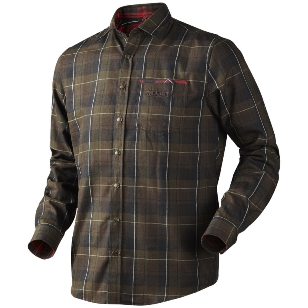 Harkila Hasvik Shirt Hunting Green Check