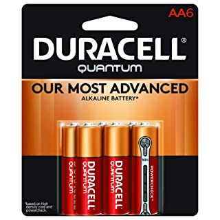 Duracell - Quantum AA Alkaline Batteries - long lasting, all-purpose Double A battery for household and business - 6 count