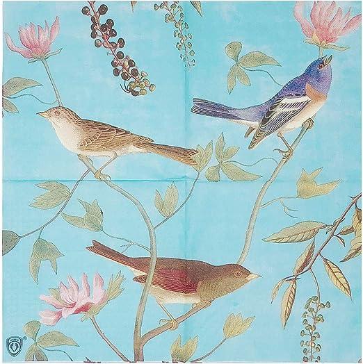 4 x Single Paper Napkins//3 Ply//Decoupage//Craft//Wildlife//Nature//Fantasy Feathers