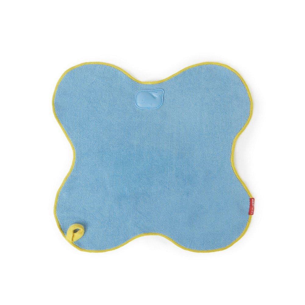 Skip Hop Moby Warm-Up Cuddler, Baby Bath Towel, Blue 304001-US