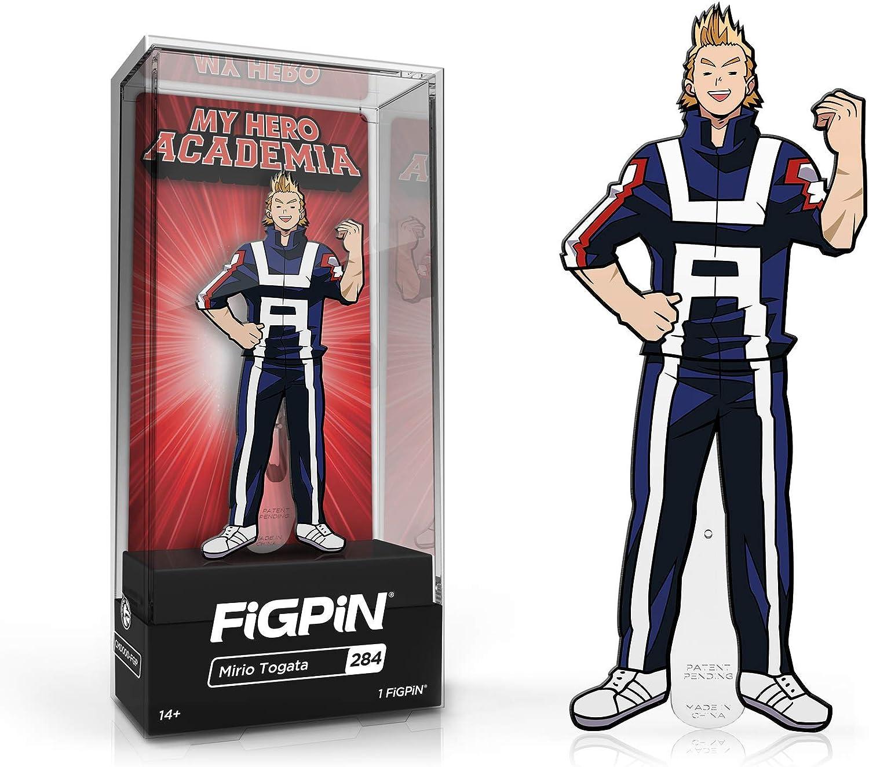 My Hero Academia Mirio Togata Academy Outfit FiGPiN Enamel Pin