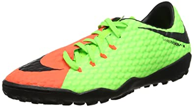 6f2ba10f8 Nike Mens Hypervenomx Phelon III Turf Shoes  Electric Green  (6.5)