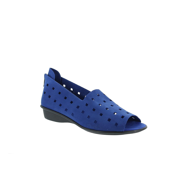 Sesto Meucci Women's Evonne Flat B00M1IN8GM 9.5 B(M) US Bluette Nubuck