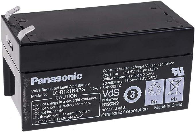 Panasonic Bleiakku Lc R121r3pg 12v Lead Acid Elektronik
