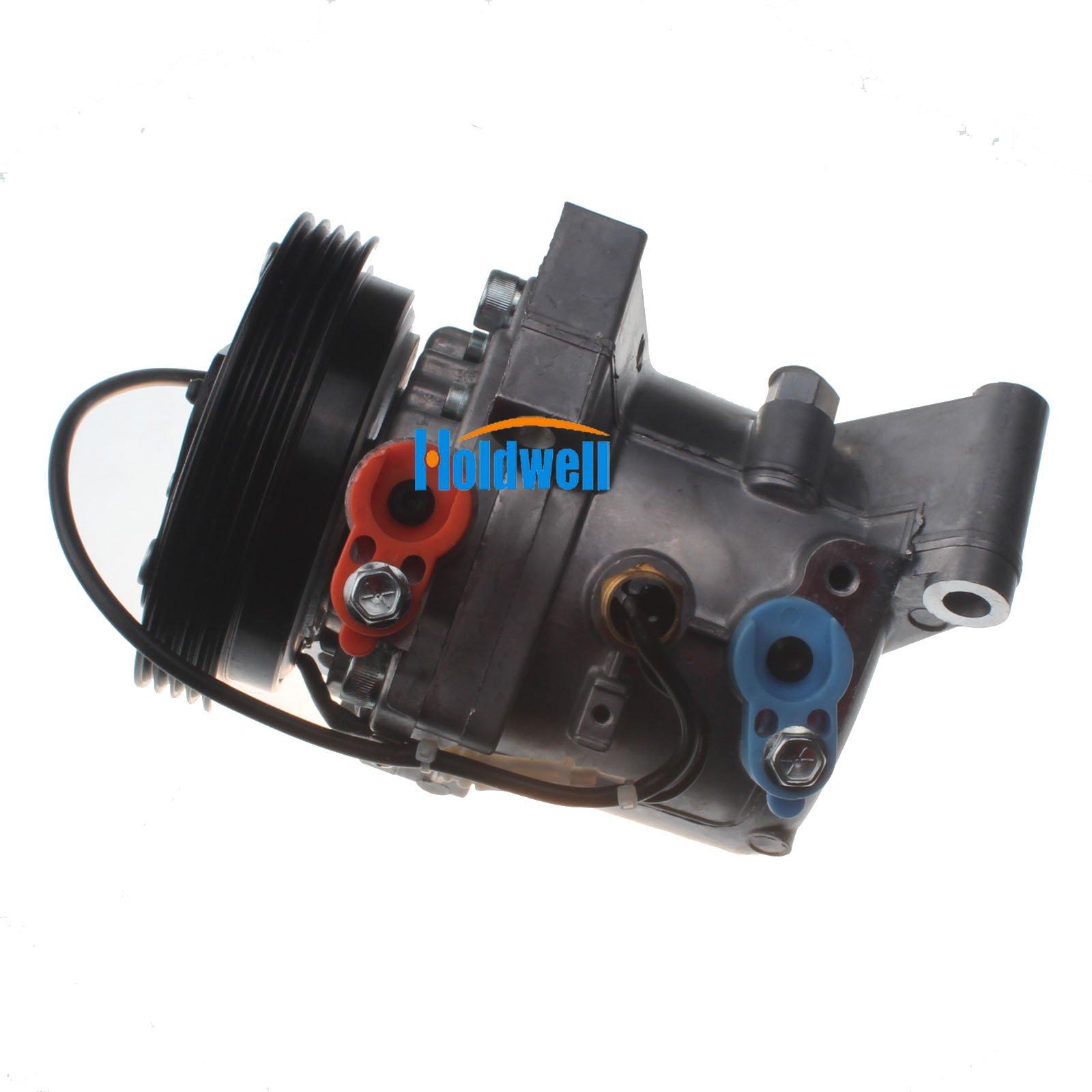 Holdwell Auto AC Compressor 95201-77GB2 9520177GB2 for Suzuki Jimny Seiko Seiki SS07LK10 by Holdwell (Image #3)