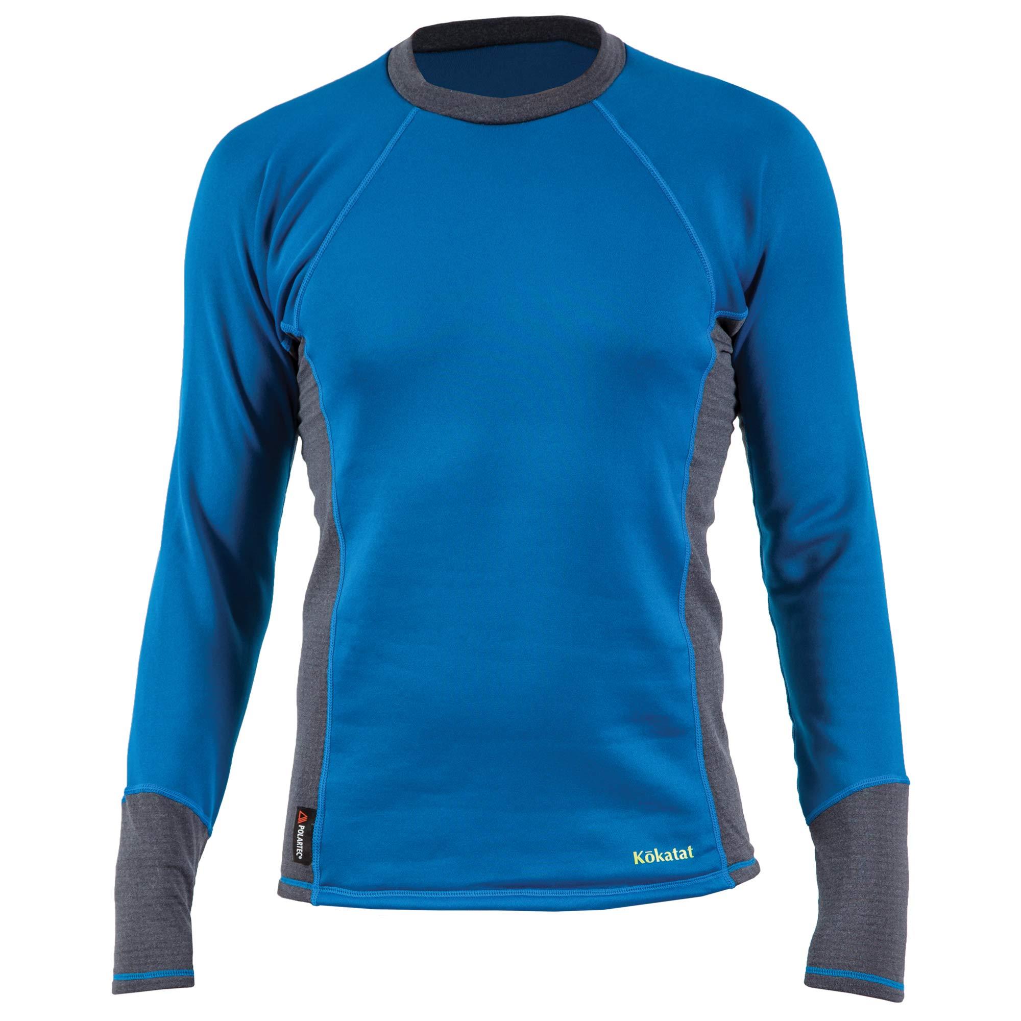 Kokatat Men's Polartec Power Dry Outercore Long Sleeve Shirt-Ocean-L by Kokatat