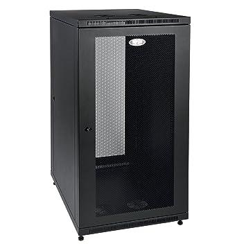 Great Tripp Lite 24U Rack Enclosure Server Cabinet, Mid Depth, 32.5u0026quot; Deep  (SR24UB