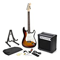 RockJam RJEG01-SK-SB Full Size Electric Guitar SuperKit