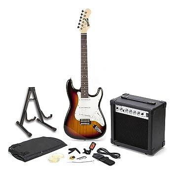 RockJam RJEG01-SK-SB - Guitarra eléctrica