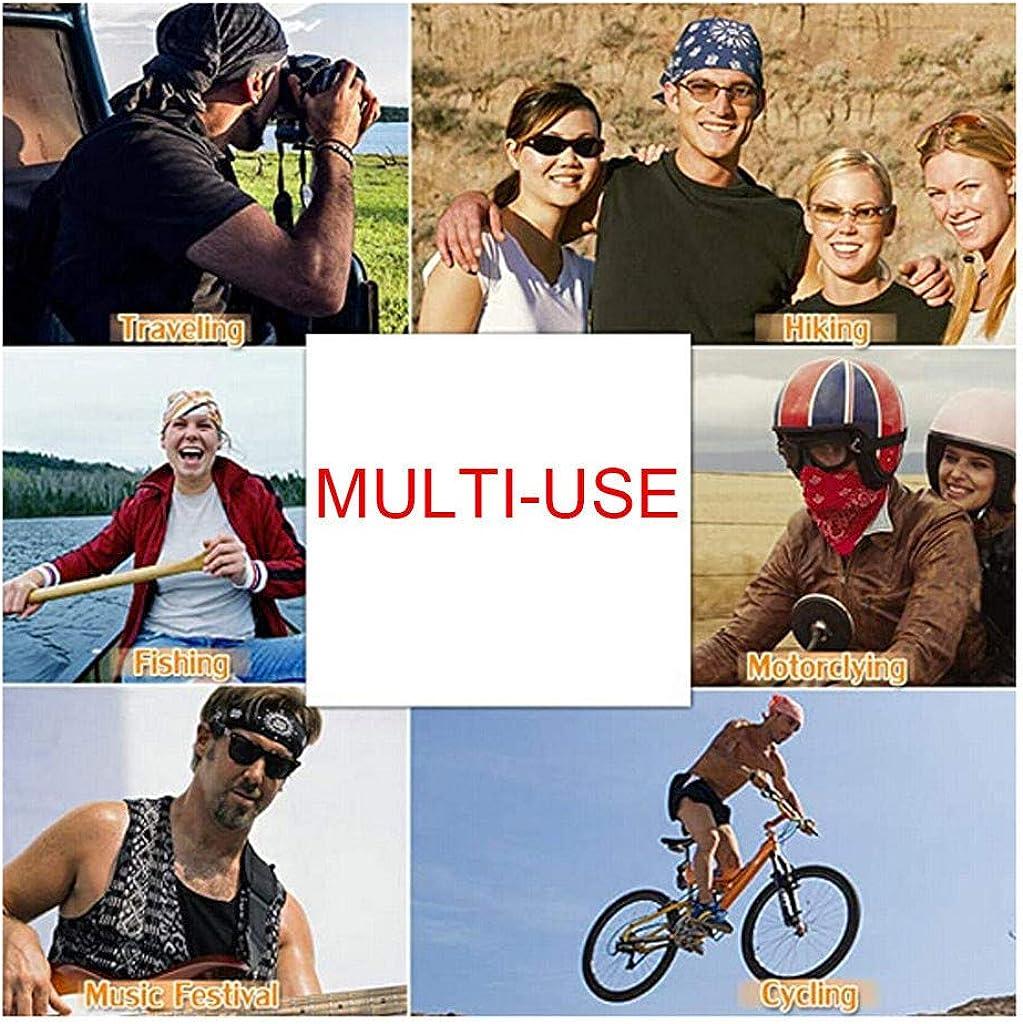 Shulky Damen and Herren Reitschal-Kopftuch,Unisex Schlauchtuch,Motorrad Halstuch,Atmungsaktiv Schlauchschal Face Shield