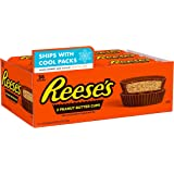 REESE'S Milk Chocolate Peanut Butter Cups Candy, Bulk, 1.5 oz Packs (36 Count)
