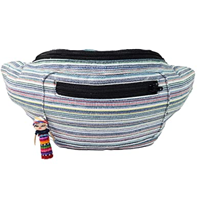 Amazon.com: Nativo tribales Fanny Pack, Boho Chic, tela Eco ...