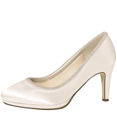 Yanna Cm Club Satén 5 Zapatos 7 Rainbow Novia De shQdxrCt