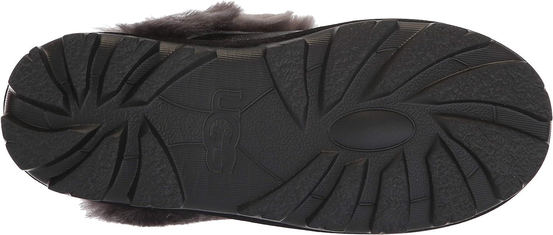 UGG® Coquette Sparkle Damen Hausschuhe Schwarz Black Grey bc12R