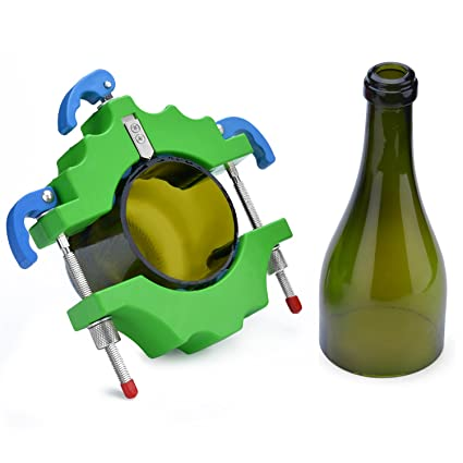 Cortador de botella de vidrio, cortadora de botella FIXM Cortador de botella de vino,