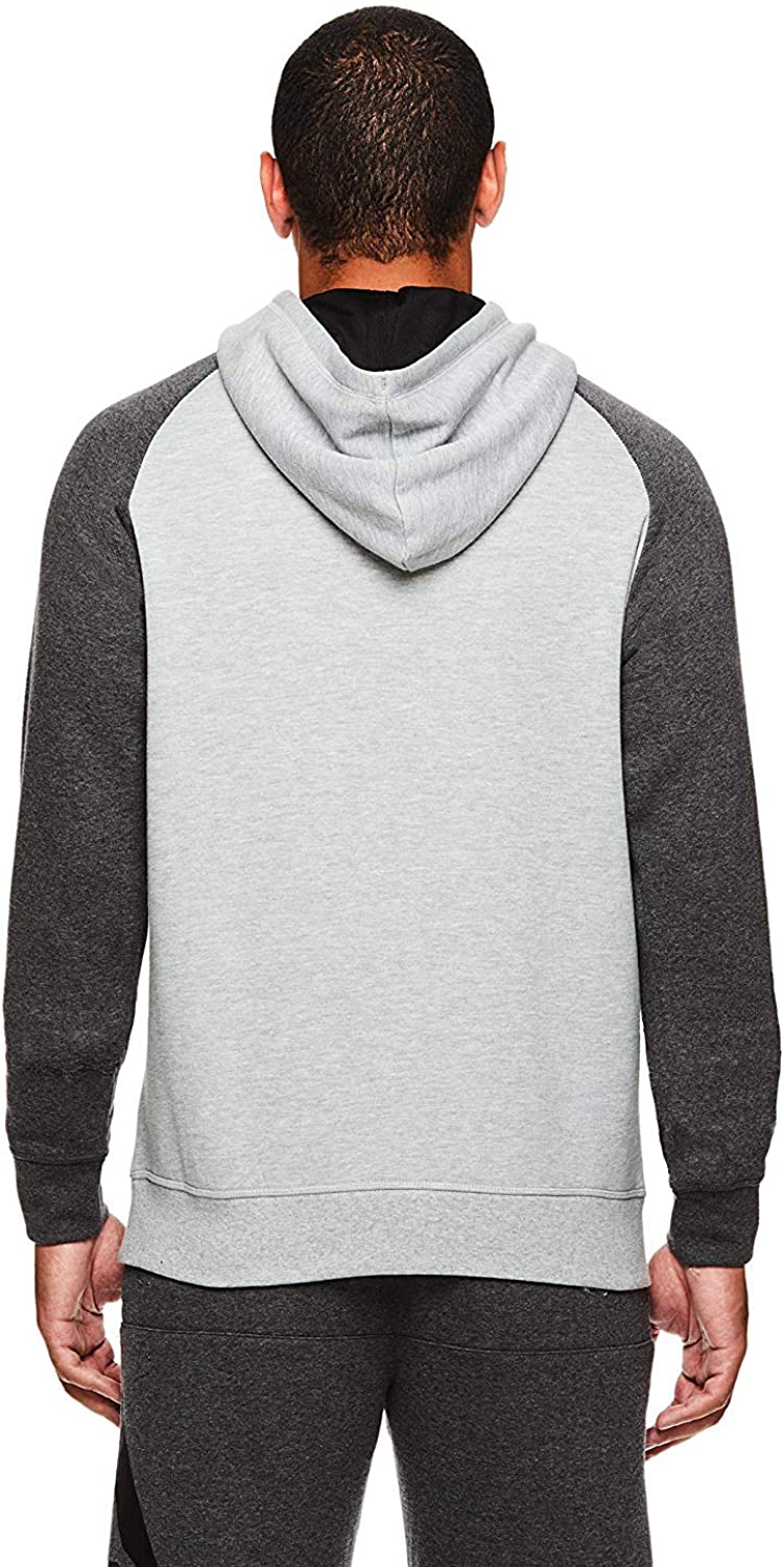Reebok Herren Performance Pullover Hoodie - Graphic Hooded Activewear Sweatshirt Beast 2.0 Po Grey Heather
