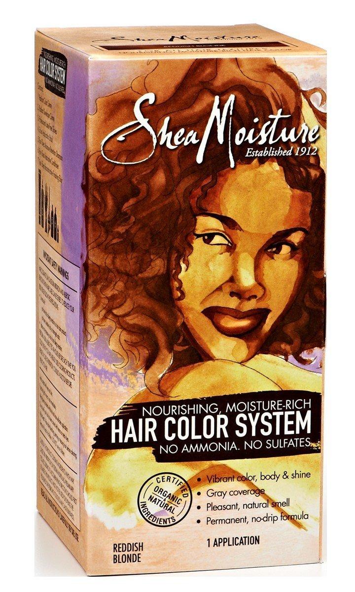 Amazon Shea Moisture Reddish Blonde Hair Color System