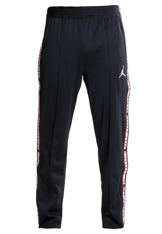 b6011600c0118 Nike Men's Air Jordan Basketball Tearaway Button Snap Pants Black ...