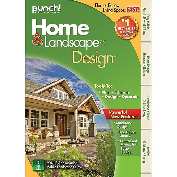 Amazon.com: Punch! Home & Landscape Design 17.5 [Download]: Software