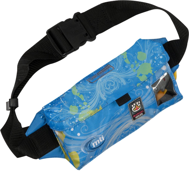 MTIのAdventurewearフルードインフレータブルベルトパックPFDライフジャケット  Fluid Print B004S2A0FG