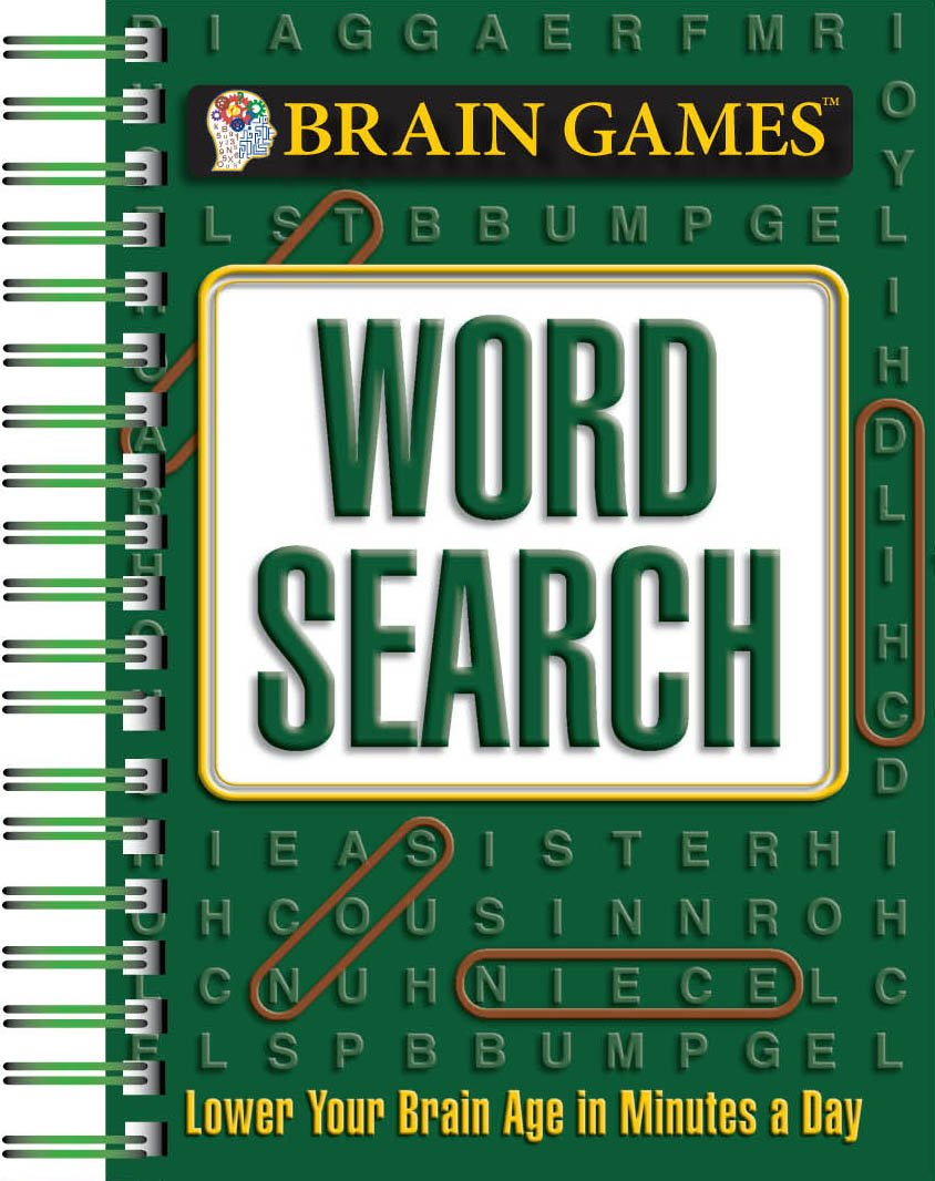 Brain Games Mini - Word Search: Editors of Publications International Ltd.,  Susan Brown, Myles Callum, William Cobb, Mark Danna, Harvey Estes, Holli  Fort, ...