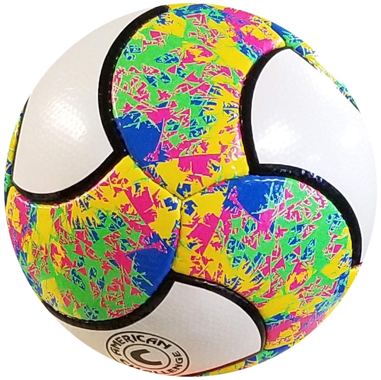 American Challenge Carnaval balón de fútbol de 18 Paneles, 5 ...