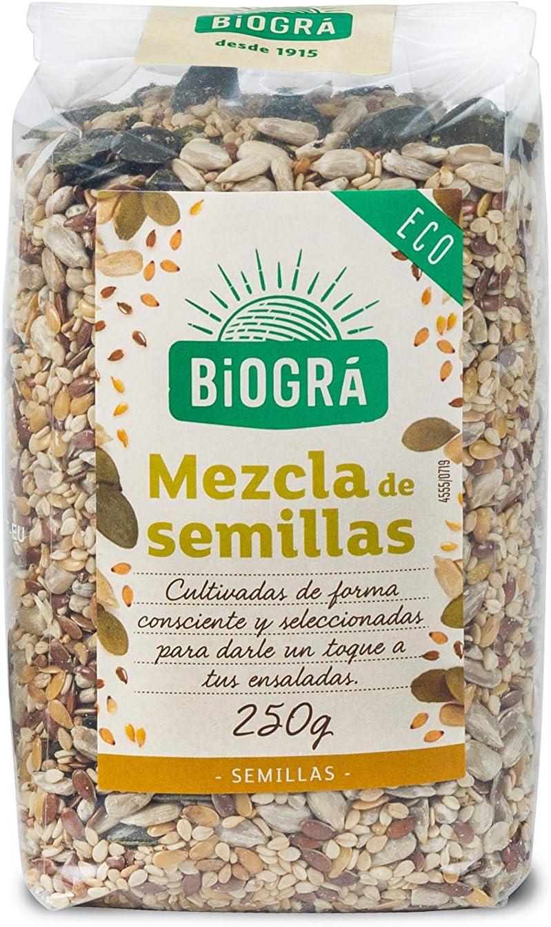 Biográ - Mix de Semillas de Girasol, Sésamo, Calabaza, Lino y ...