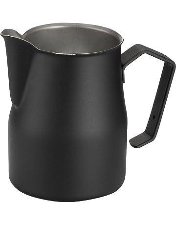 Motta 02575/00 - Jarra para emulsionar leche, 75 cl, color negro