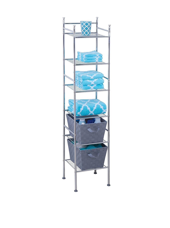 rail black example towel shelf innovative amp perfect unit com bathroom shelves metal eyagci