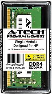 A-Tech 8GB RAM for HP 250 G7 Pentium N5000/Celeron N4000 DDR4 | DDR4 2400 SODIMM PC4-19200 1.2V 260-Pin Memory Upgrade Module