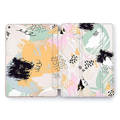 083e9e59ded9c Wild Apple New iPad Case 9.7 inch Mini 1 2 3 4 Air 2 10.5 12.9 2018 2017  Cover Skin Texture Watercolor Print Design Clear Smart Stand Painter  Notebook ...