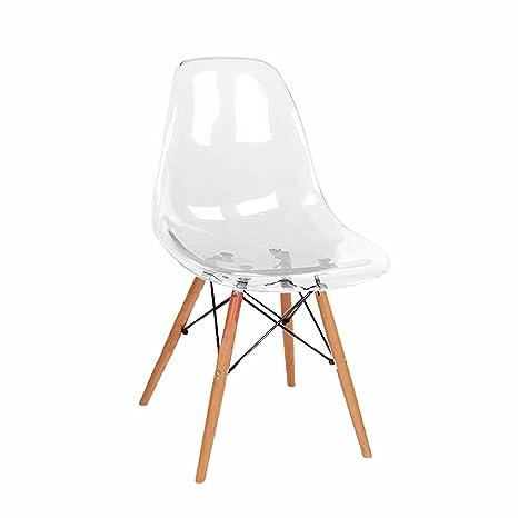 Amazon.com: DONGYUER Silla de comedor, silla de ocio ...