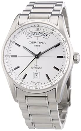 1a2bd76d9 Amazon.com: Certina DS 1 - Day Date Automatic Ladies Watch ...