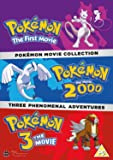 Pokemon Movie 1-3 Collection