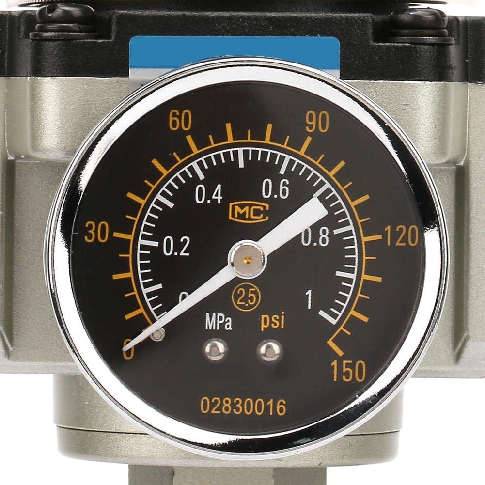 0.05-0.65mpa G1//2 SMC Air Source Compressor Adjustable Pressure Regulator Reduce Valve AR4000-04 Pressure Reduce Valve