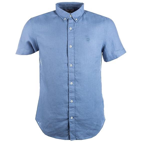 chemise timberland bleu