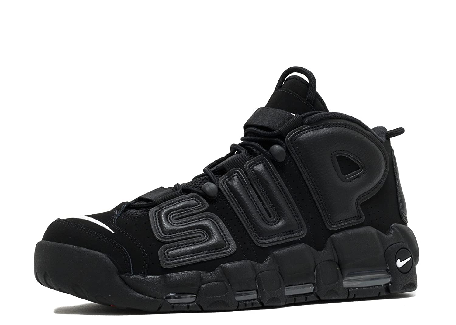 Nike Air More Uptempo Supreme - Black/Black-White Trainer: Amazon.es: Zapatos y complementos