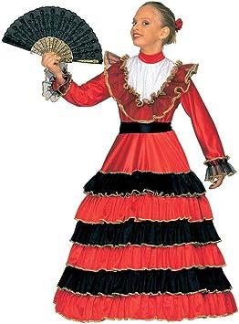 Disfraz de española para niña: Amazon.es: Juguetes y juegos