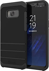 S8 Plus Case, Crave Strong Guard Protection Series Case for Samsung Galaxy S8 Plus- Black