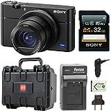 "Sony Cyber-shot DSC-RX100 V 20.1 MP Digital Still Camera w/ 3"" OLED Bundle"