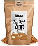 Bio Zimt Ceylon//Ceylon-Zimt gemahlen (Bio, 250g) I 100% Bio-Qualität I Großpackung im wiederverschließbaren Aroma-Frischebeutel I Zimtpulver abgefüllt und kontrolliert in Deutschland (DE-ÖKO-005)