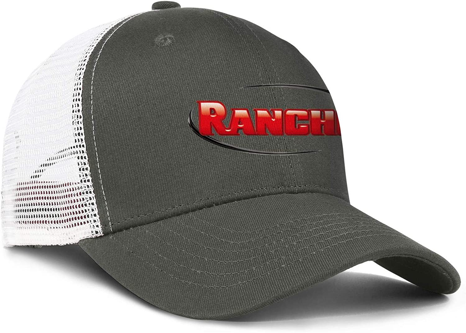 Rancho Suspension Logo Men Women Mesh Back Baseball Hat Classic Dad Hats