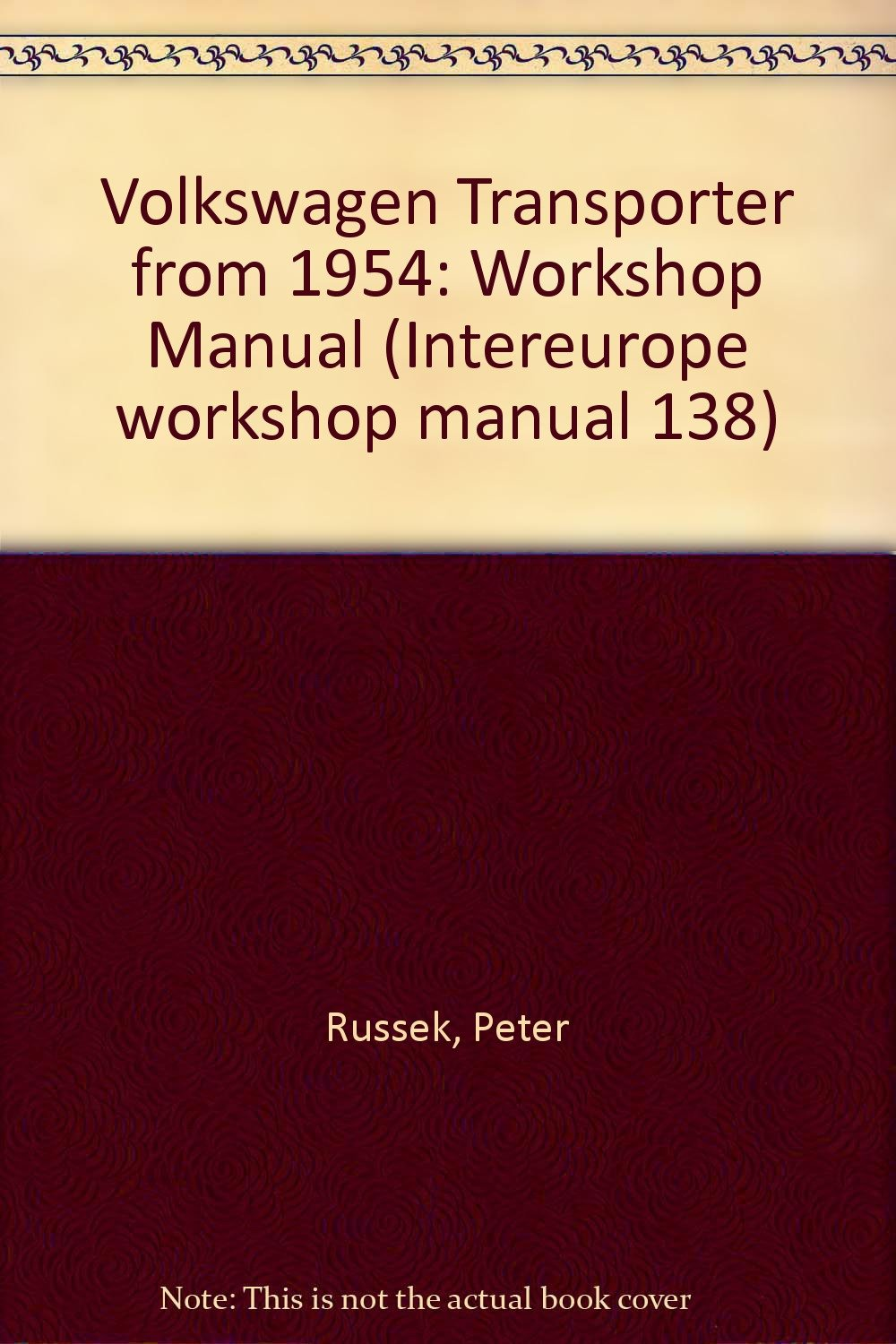 Volkswagen Transporter from 1954: Workshop Manual