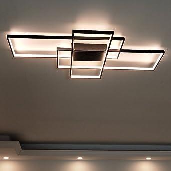 Rechteck Aluminium Moderne Led Deckenleuchte Fur Wohnzimmer