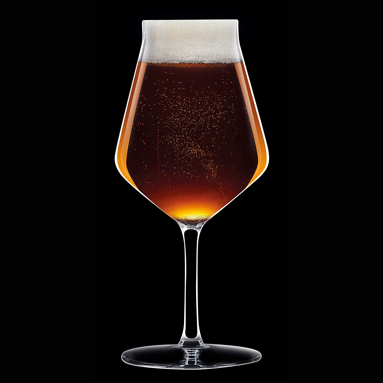 6 St/ück Chef /& Sommelier ARC N8280 Beer Premium Biertulpe transparent Bierglas 350 ml Krysta Kristallglas