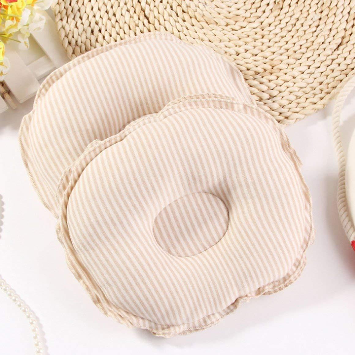 Funnyrunstore Natural Organic Cotton Newborn Infant Girls Boys Support Cushion Sleeping Pillow Baby Soft Shape Pillow Prevent Flat Head