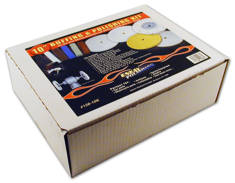 Enkay 158-10K 10-Inch Buffer and Polishing Kit, Box