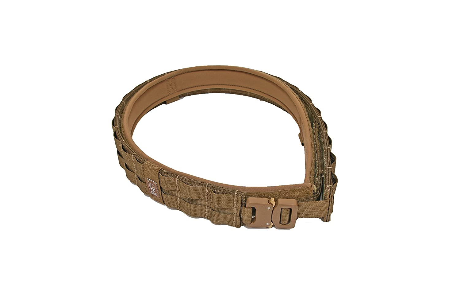 Grey Ghost Gear UGF Battle Belt with Padded Inner, Coyote Brown, Large