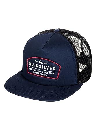 Quiksilver -Gorra de béisbol Hombre Azul Navy Blazer Medium ...